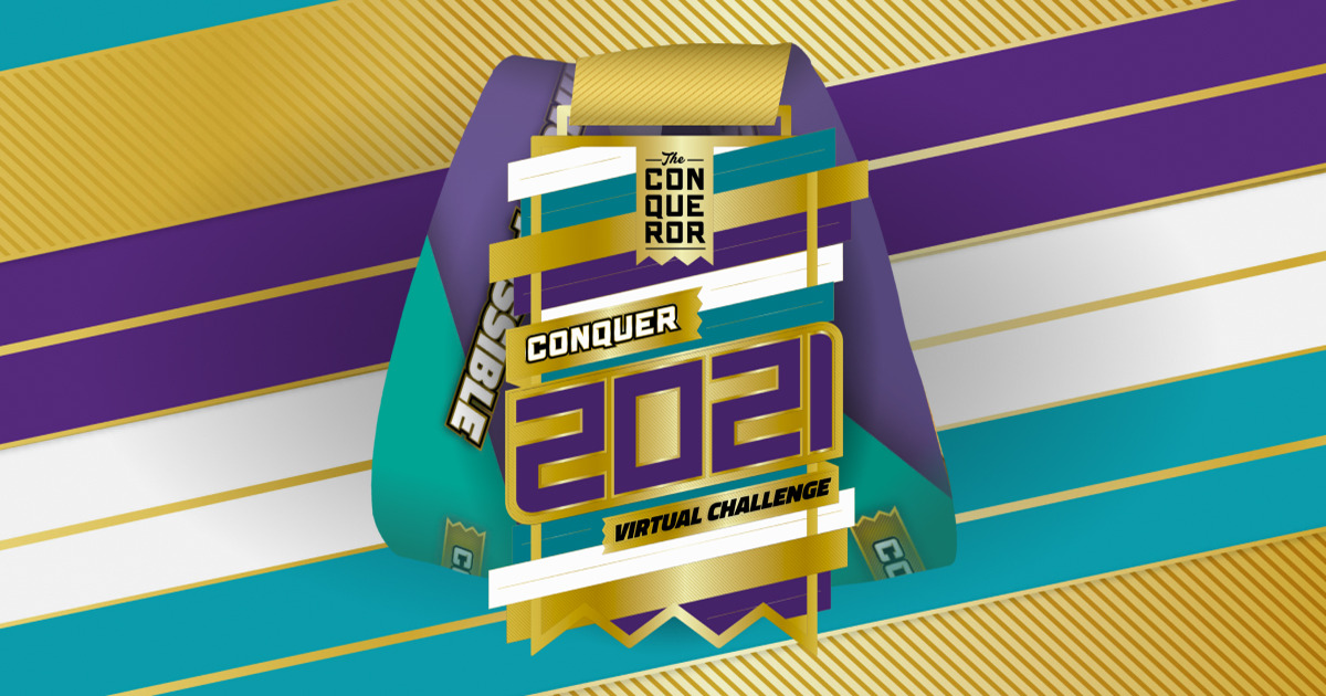 Conquer 2021 Virtual Challenge - My Virtual Mission